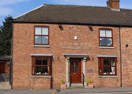 M G Evans Sons Family Funeral Directors Atherstone Office