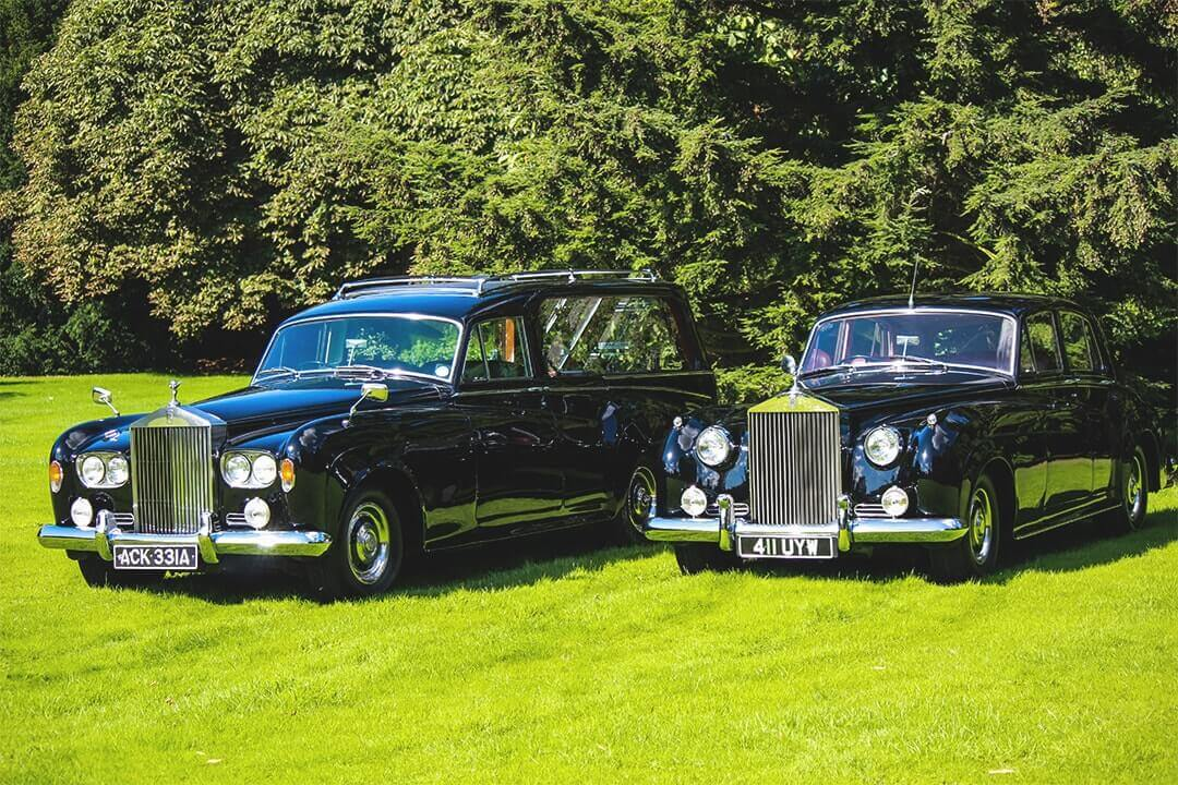 M G Evans Funeral Directors Rolls Royce Fleet Vehicle