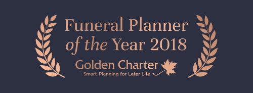 M G Evans Funeral Planner Of The Year 2018