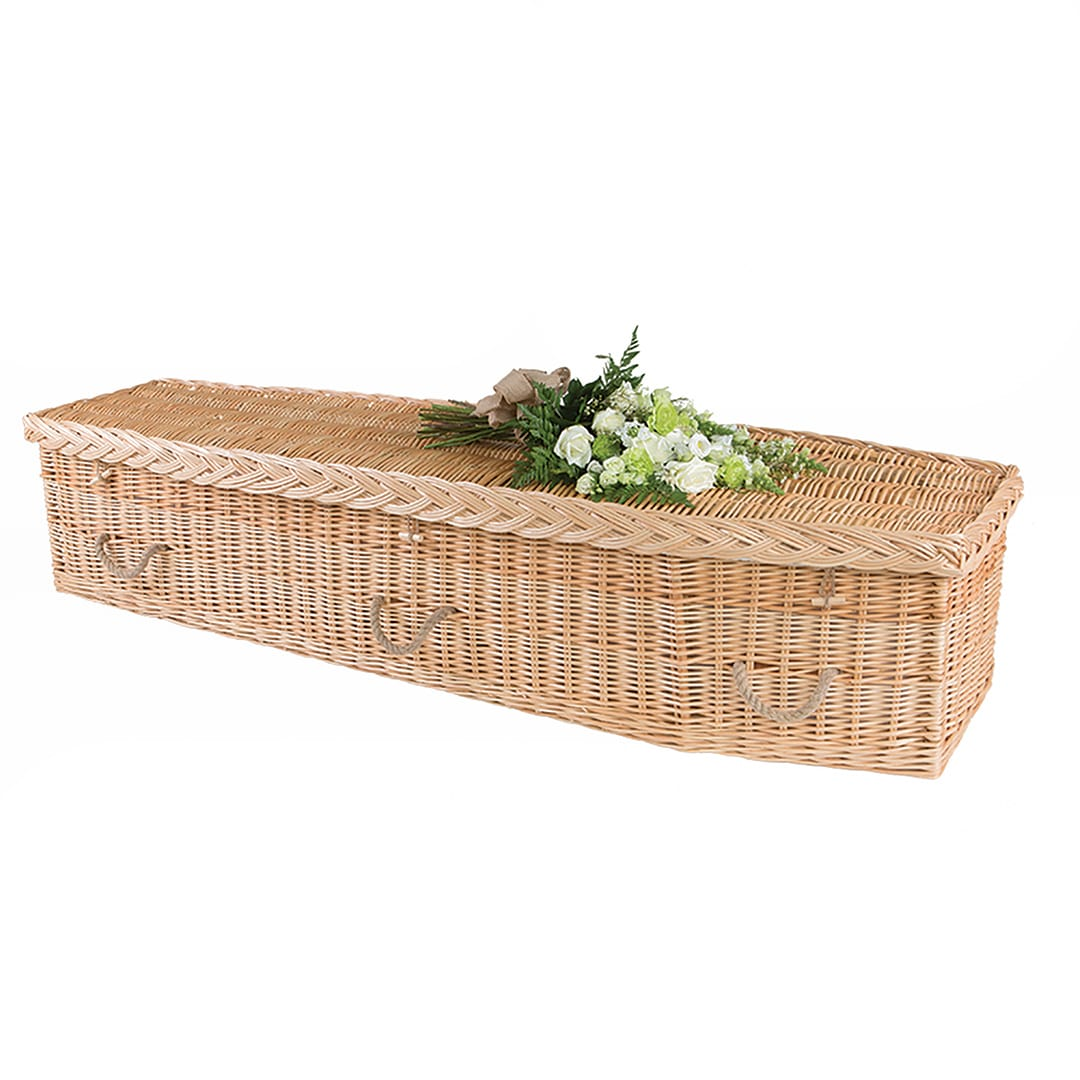 M G Evans Funeral Directors The Wicker Coffin Traditional